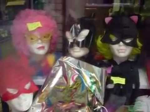 Antifaces C articulos de fiesta verdaguer barcelona - YouTube 4102e6fc73f