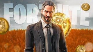 IF YOU WIN THE SKIN JONH WICK *PRIVATE PARTIES* LIVE FORTNITE