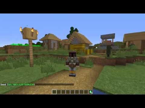 Minecraft 1 14 Snapshot: New village at spawn (w/seed)