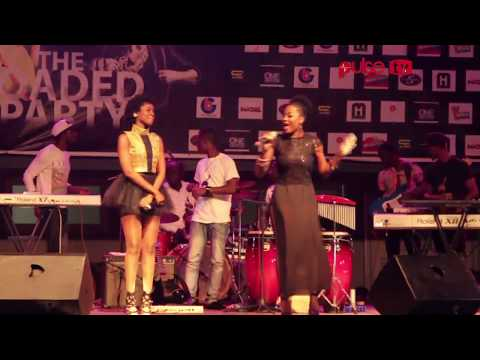 MzVee and Efya perform 'Abofra' @ the loaded party