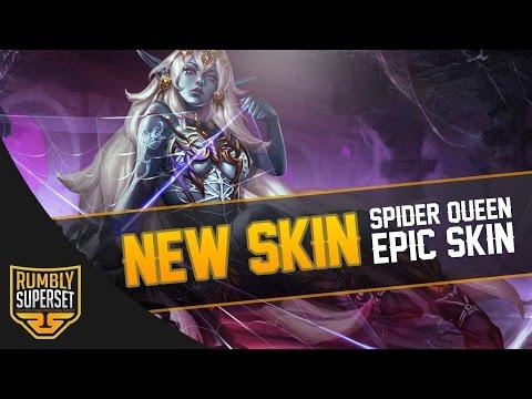 Vainglory News - NEW KESTREL SKIN!! [Splash art + In game model]