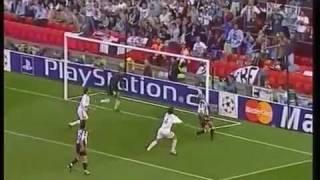 vuclip Milan-Juventus Finale Champions League 2003 - Traversa di Conte.. ancora godo! (commento Piccinini)