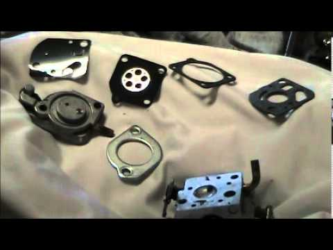 Cleaning and Rebuilding the Carburetor on the Echo PB 200 Blower