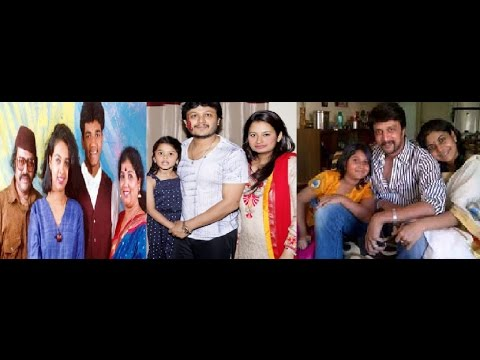 ನಟರ ಮುದ್ದಾದ ಹೆಂಡತಿ ಮಕ್ಕಳ ಫೋಟೋಸ್ | Sandalwood Actors family photos