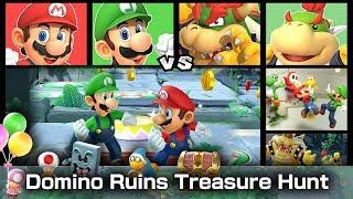Super Mario Party Mario and Luigi vs Bowser and Bowser Jr. #17
