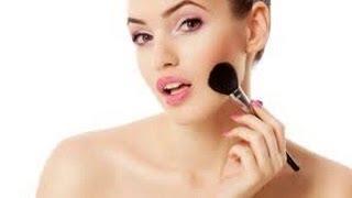 Como colocar rubor, iluminador, bronceador y contorno en el rostro