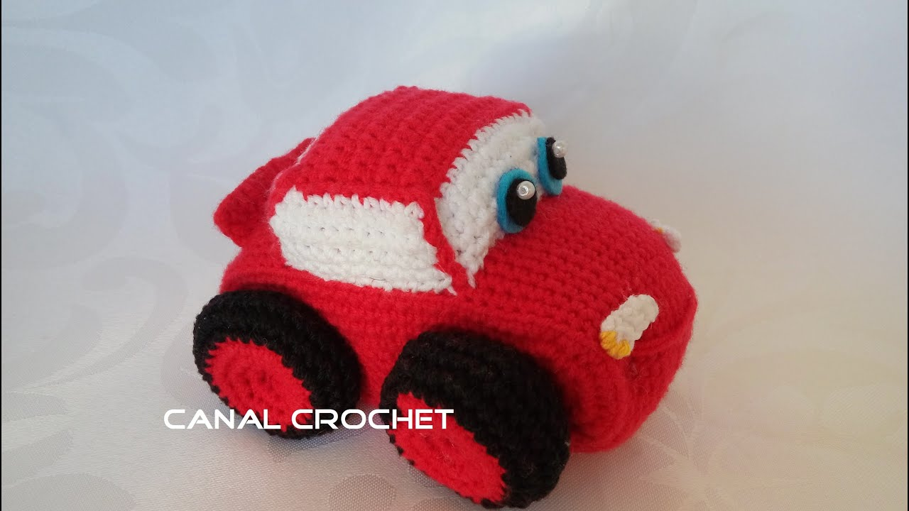 mini car amigurumi tutorial