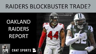 Raiders BLOCKBUSTER Trade? Raiders Rumors: Leonard Williams & Vic Beasley + Fire Paul Guenther