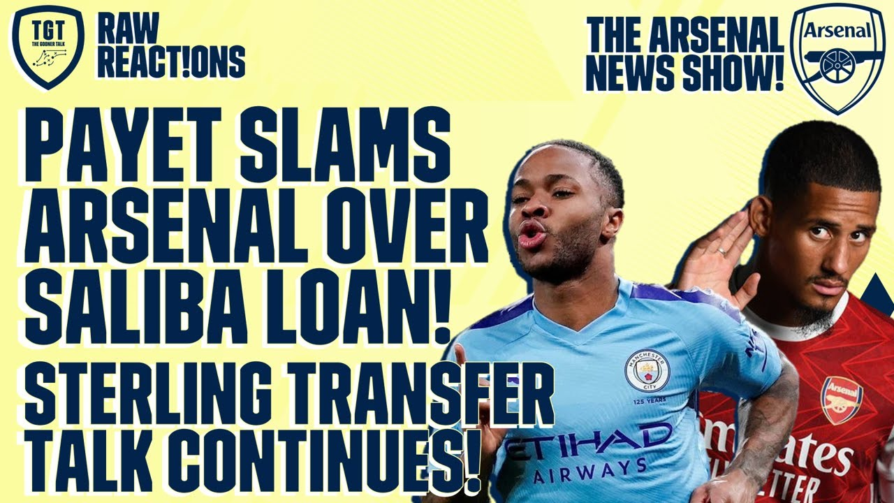 Download The Arsenal News Show EP39: Sterling, Saliba, Payet, Martinelli & More!   #RawReactions