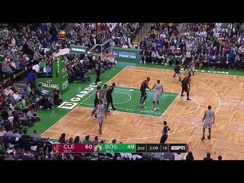 Cedi Osman Misses Wide Open Dunk! Celtics vs Cavaliers! 720p