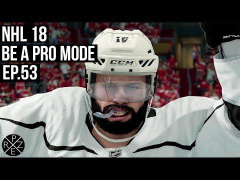 NHL 18 Be A Pro   Los Angeles Kings vs Washington Capitals Ep.53 (Xbox One X)