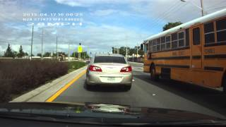 Driver on Silver Star Road on 04-17-2013 in Orlando, Florida