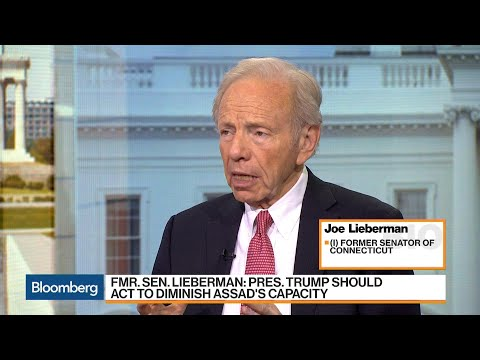 Lieberman Says Trump Should Act Against Syria's Assad