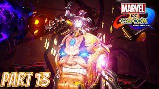 Marvel vs Capcom Infinite Story Part 13: Battling Ultron Omega (Final Boss Battle)