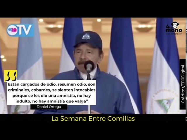 Ortega amenaza a los Azul y Blanco