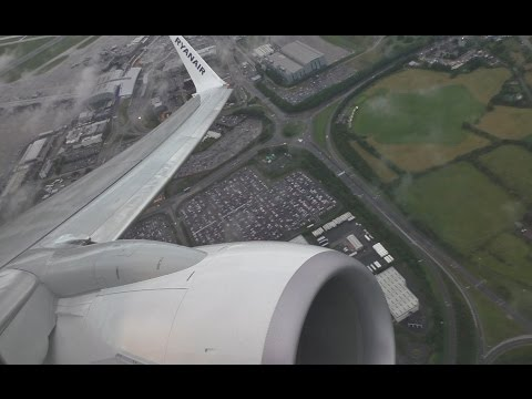 Ryanair Boeing 737-800 Dublin to Glasgow *Full Flight*