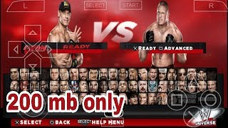 How to Download wwe 2k14 Psp iso highly compressed game [ PPSSPP] in any Android device in Hindi