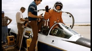 NASA`s F-104 Space Shuttle landing trainer
