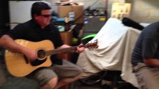 Xmas Day Jam - Dad & Larry -