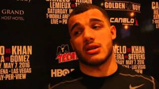 'I RESPECT AMIR KHAN FOR TAKING ON CANELO, HE'S A REAL MAN WITH BIG BALLS' -GLEN TAPIA / CANELO-KHAN