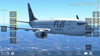 Hampir gagal landing!!  Pesawat 737-600 di infinite flight
