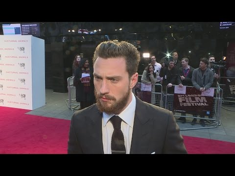 Nocturnal Animals star Aaron Taylor-Johnson talks working with Tom Ford