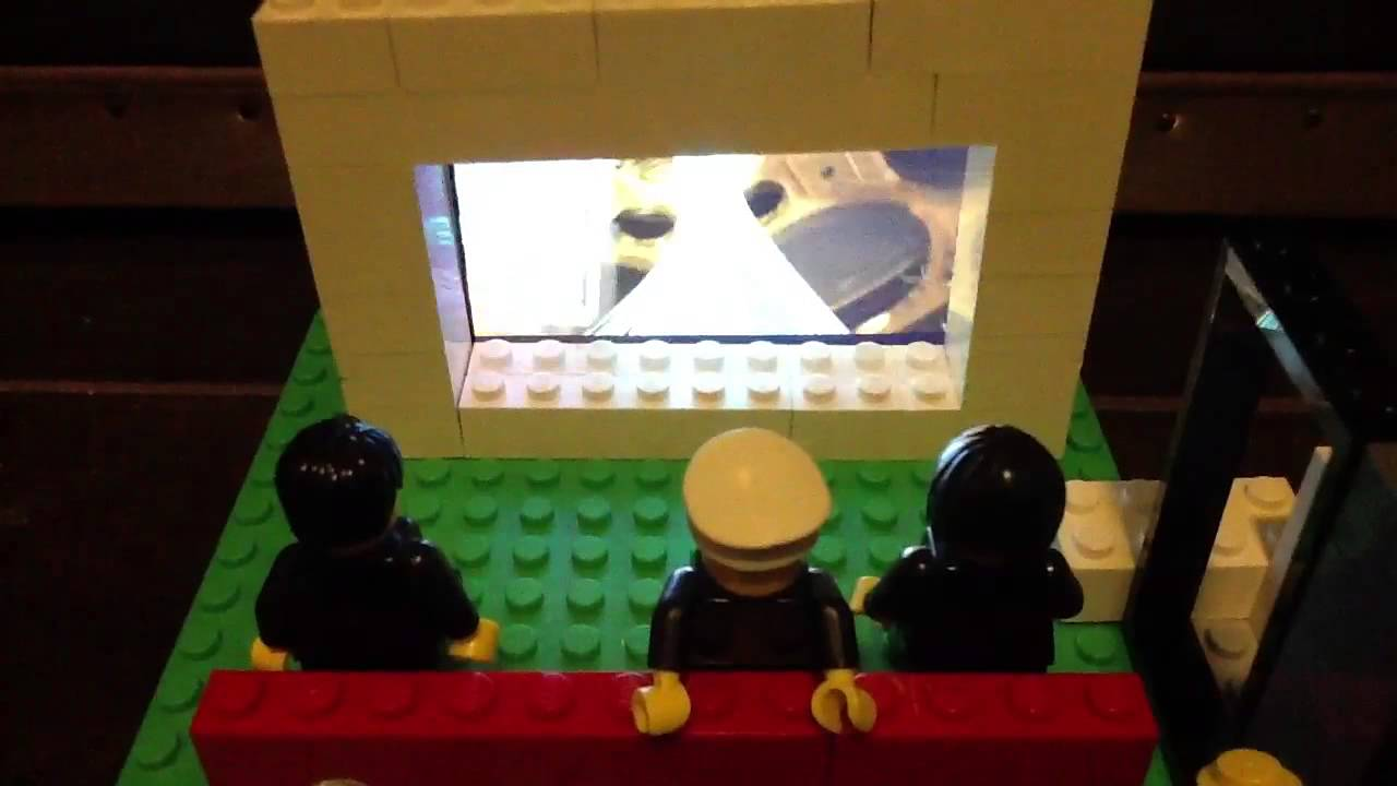 My Working Lego Movie Theater  YouTube
