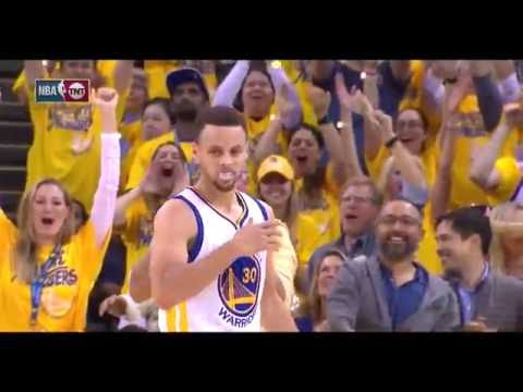 Stephen Curry breaks the NBA record for 3-pointers in a playoff series