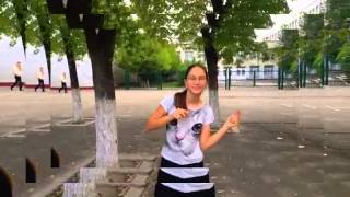 Классный клип снятый на уроке физкультуры:)