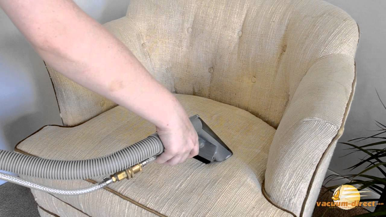 How To Clean Upholstery With The Rug Doctor Upholstery Tool YouTube - Sofa upholstery cleaning