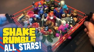 Shake Rumble All Stars SuperCut  ft. Imaginext Batman Toys and Disney Toys by KidCity