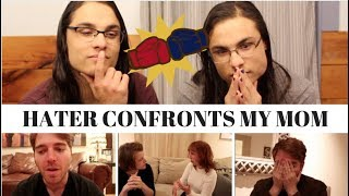HATER CONFRONTS MY MOM I OUR REACTION! // TWIN WORLD