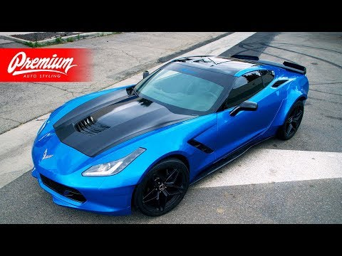 WIDEBODY CORVETTE WRAP REVEAL!!! Supercar Suspects