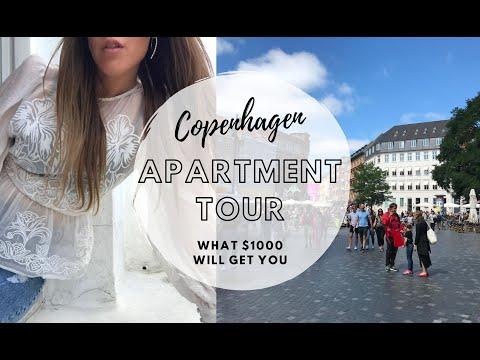 Copenhagen Apartment Tour // This is what you will get in Copenhagen vs. New York City