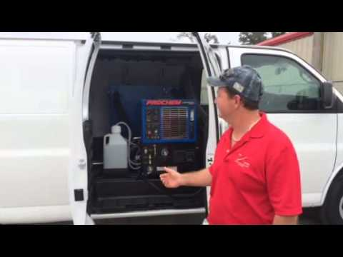 Rug Busters Key West Prochem Truckmount In Van