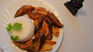 Индийское Карри из баклажан и картофеля • Вегетарианские рецепты