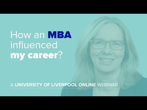 How an MBA influenced my career
