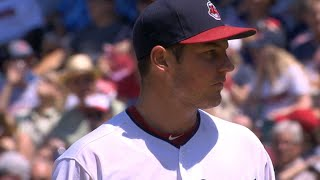 7/27/17: Bauer's gem leads Indians to victory