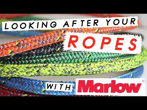 HOW TO CLEAN YOUR SAILING ROPES - Sailing Rope Tips From Marlow Ropes