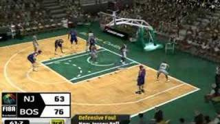Short Gameplay NBA Live 08 PC