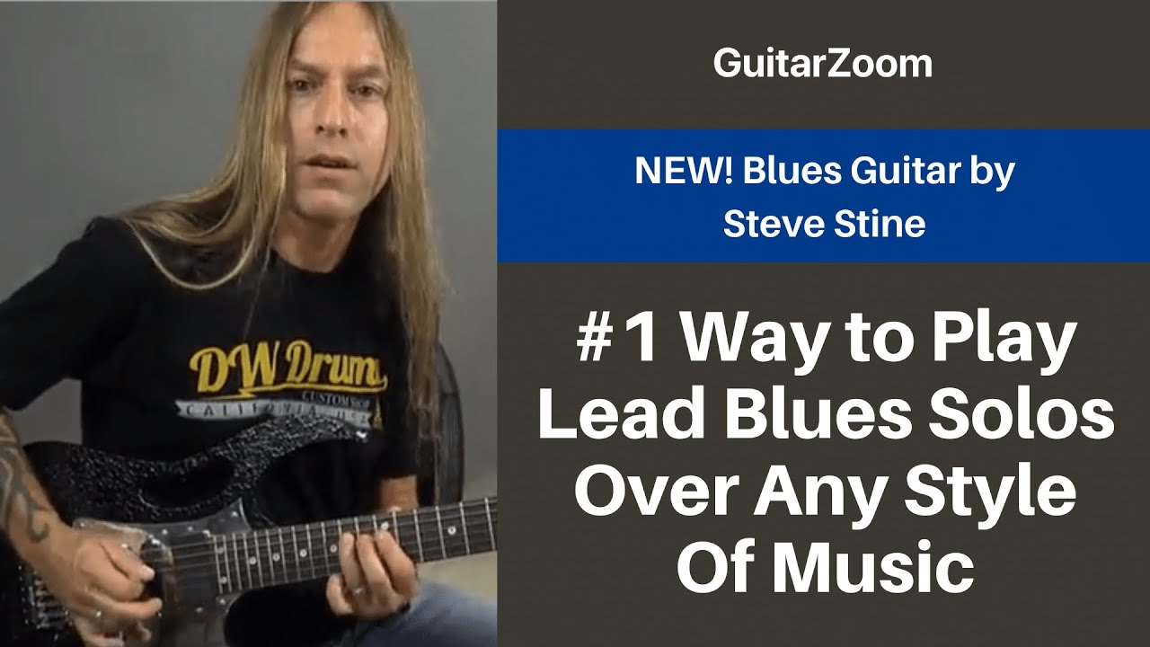 #1 Way to Play Lead Blues Solos Over Any Style Of Music | Blues Guitar Workshop