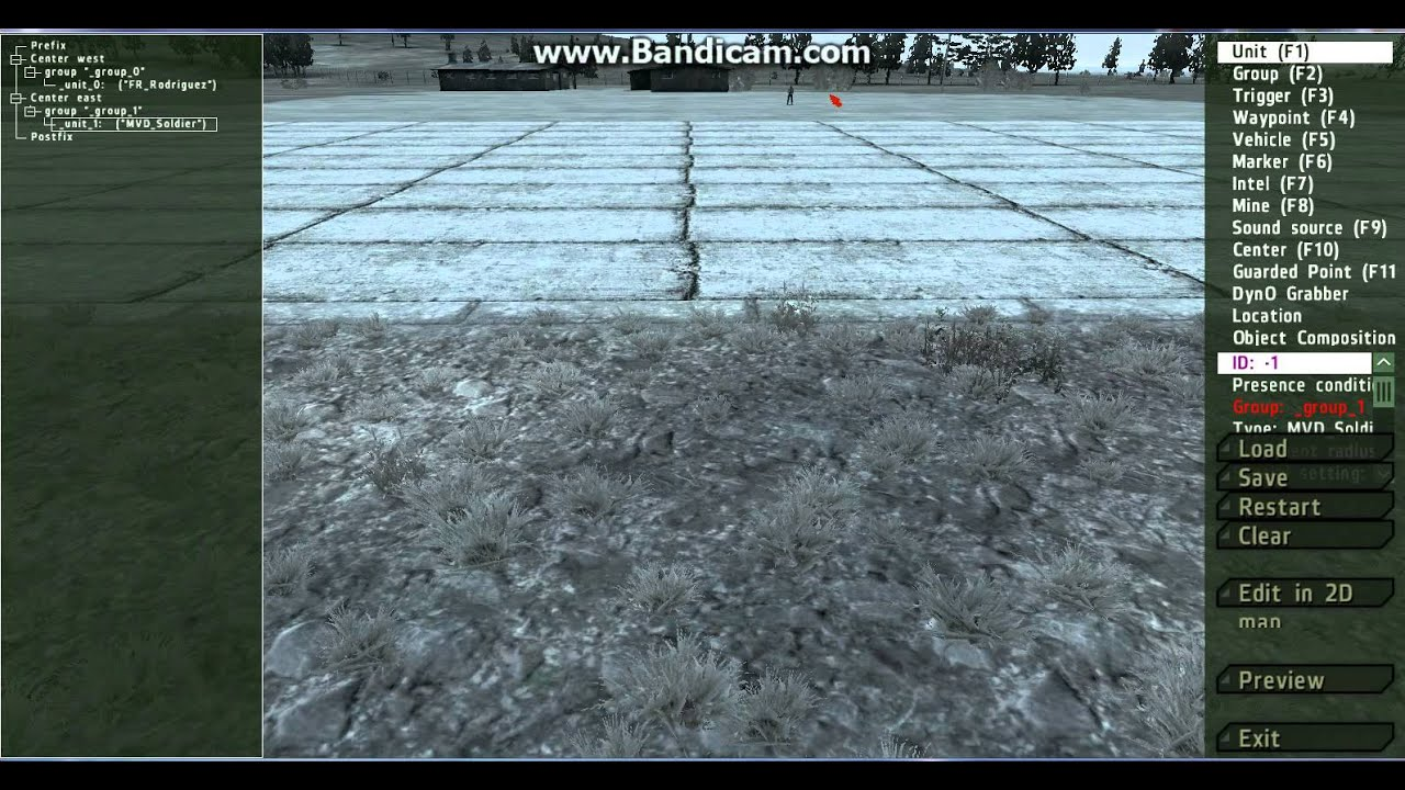 Arma 2 Tutorial How To Use 3d Editor Youtube