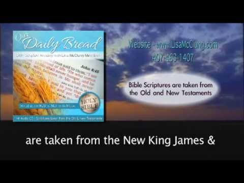 Our Daily Bread Bible Scriptures/Verses-1 hour CD