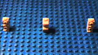 Lego Tutorials: How To Make A Lego Barbed Wire Fence