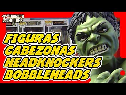 FIGURAS CABEZONAS. HEADKNOCKERS BOBBLEHEADS MARVEL AND MORE