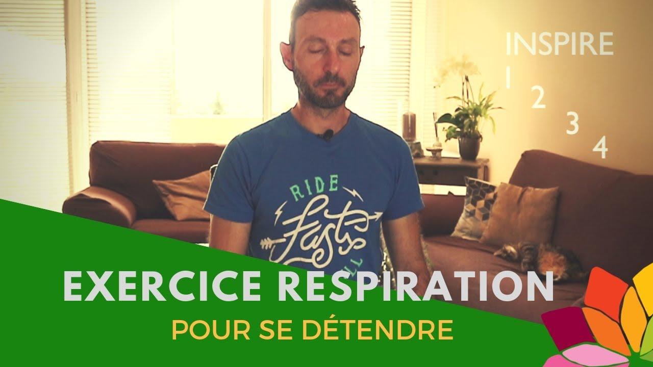 Exercice De Respiration Pour Se Detendre Youtube