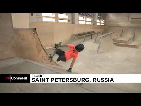 شاهد: طفل مبتور القدمين يمارس رياضة التزلج باحتراف  - نشر قبل 3 ساعة