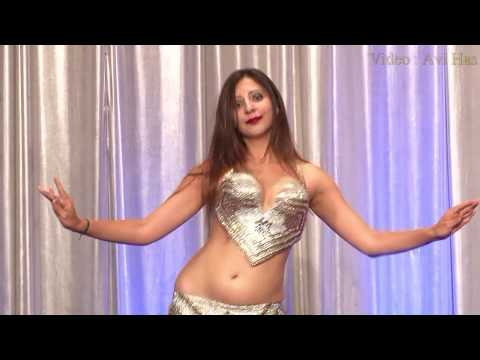 Sanjana Muthreja Belly Dancer Drum Solo Prague 2017
