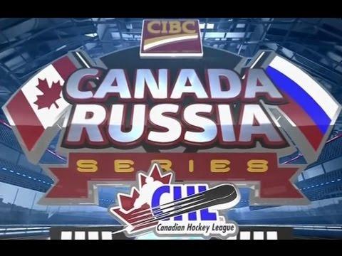 Суперсерия-2016. Молодежные сборные (U20). Первый матч Россия U20 – Канада-WHL