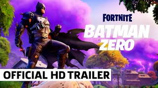 Fortnite Batman Zero Arrives to the Island